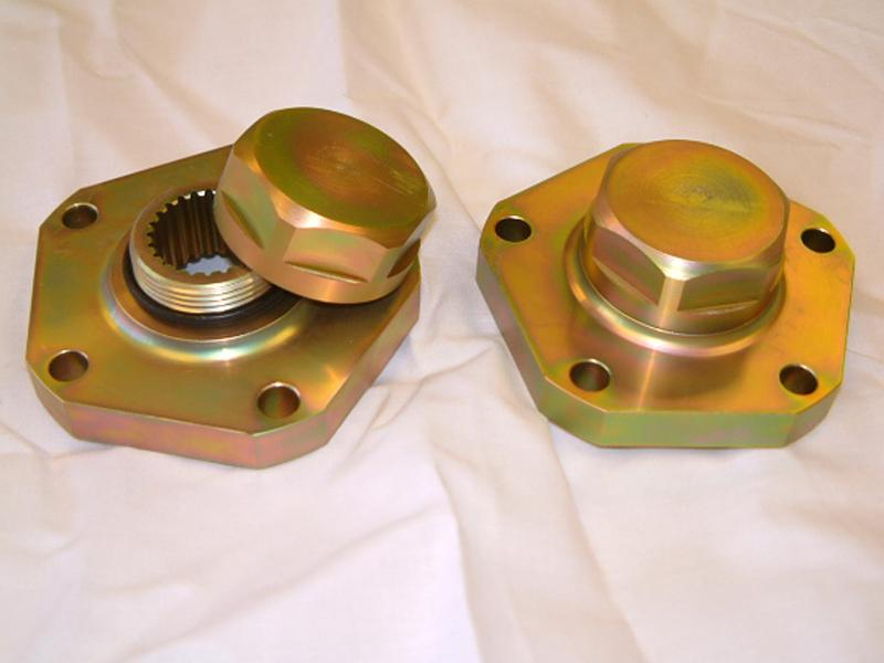 KIT FLANGE RINFORZATE ASHCROFT - VERSIONE SOTTILE DAL 1994 - Picture N.1