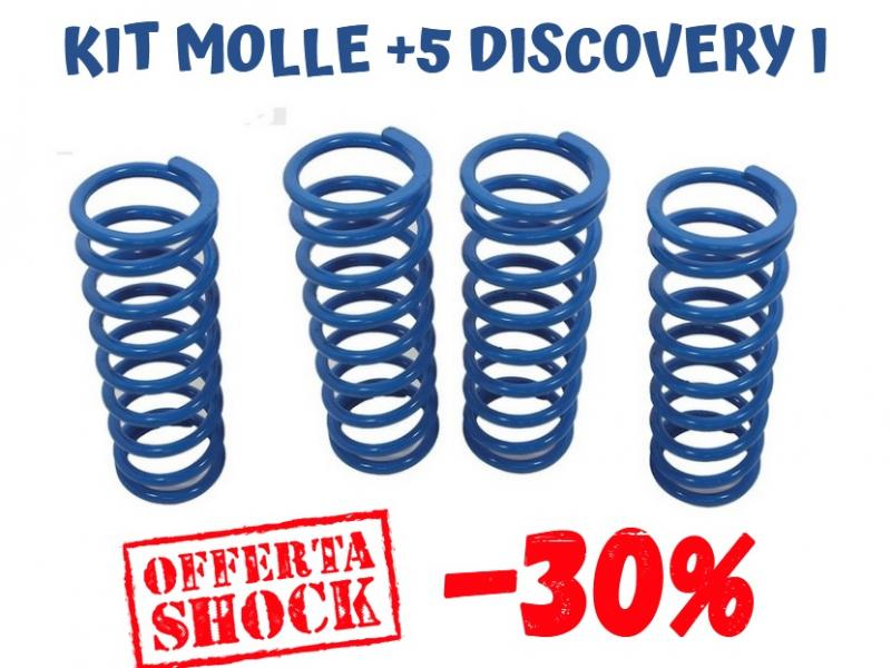 KIT 4 MOLLE BLUE SPRINGS + 5 CM DISCOVERY CARICO LEGGERO - Picture N.1