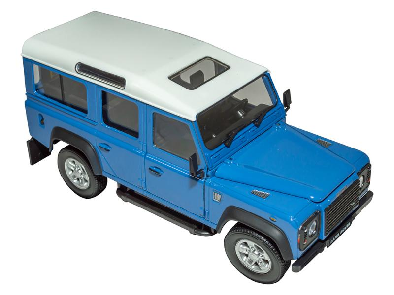 "MODELLINO DEFENDER 110"" - SCALA 1:24 - Picture N.1"
