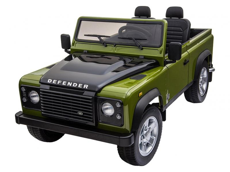 DEFENDER VERDE TELECOMANDATO BIPOSTO, FINITURE IN PLASTICA - Picture N.1