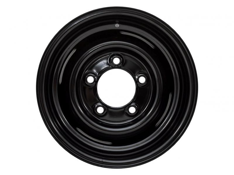"CERCHIONE IN FERRO 16"" X  8 OFFSET 00 DEFENDER DISCOVERY I RANGE ROVER CLASSIC - Picture N.1"