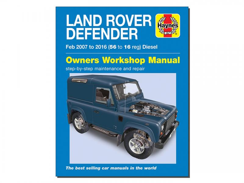MANUALE OFFICINA IN INGLESE DEFENDER DAL 2007 AL 2016 - DIESEL - Picture N.1