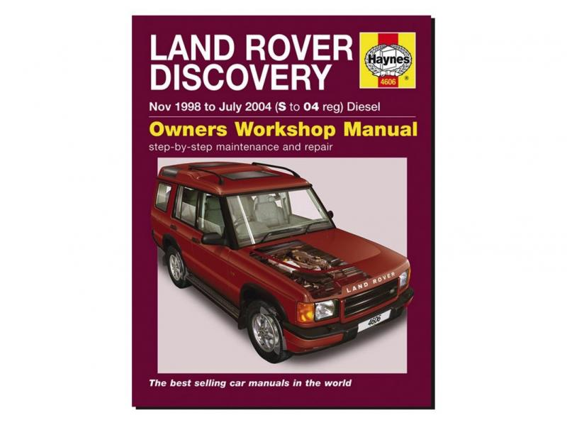 MANUALE OFFICINA IN INGLESE DISCOVERY II - DIESEL - Picture N.1