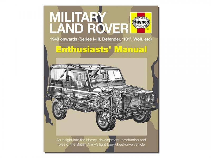 "MANUALE IN INGLESE ""MILITARY LAND ROVERS""  - Picture N.1"