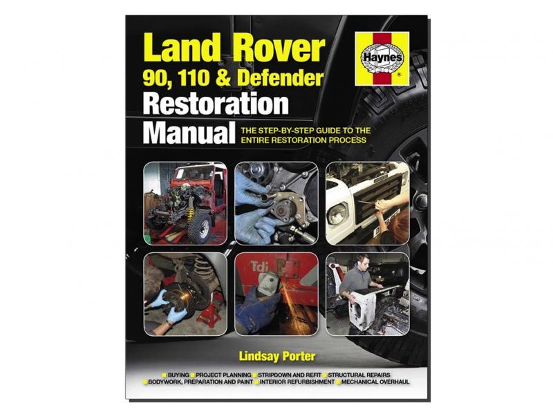 "MANUALE PER RISTUTTURARE IL DEFENDER ""RESTORATION MANUAL"" - Picture N.1"