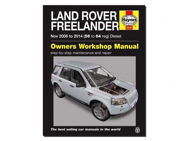 MANUALE OFFICINA IN INGLESE FREELANDER II - DIESEL  - Picture N.1