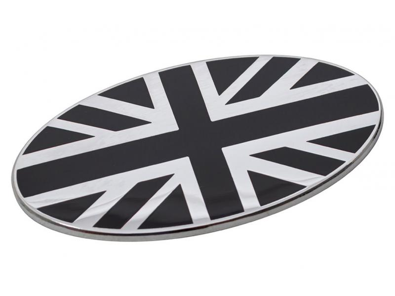 ADESIVO BANDIERA UNION JACK OVALE - Picture N.1