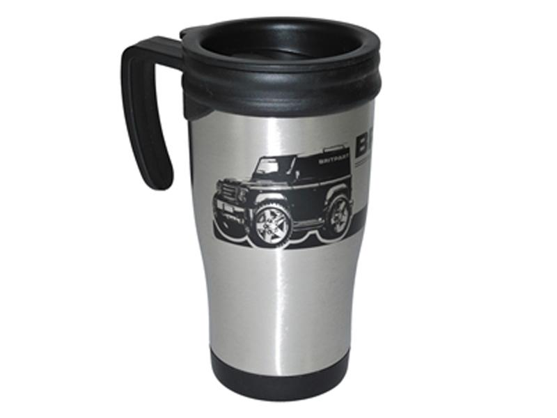 Stainless steel travel mug - Picture N.1