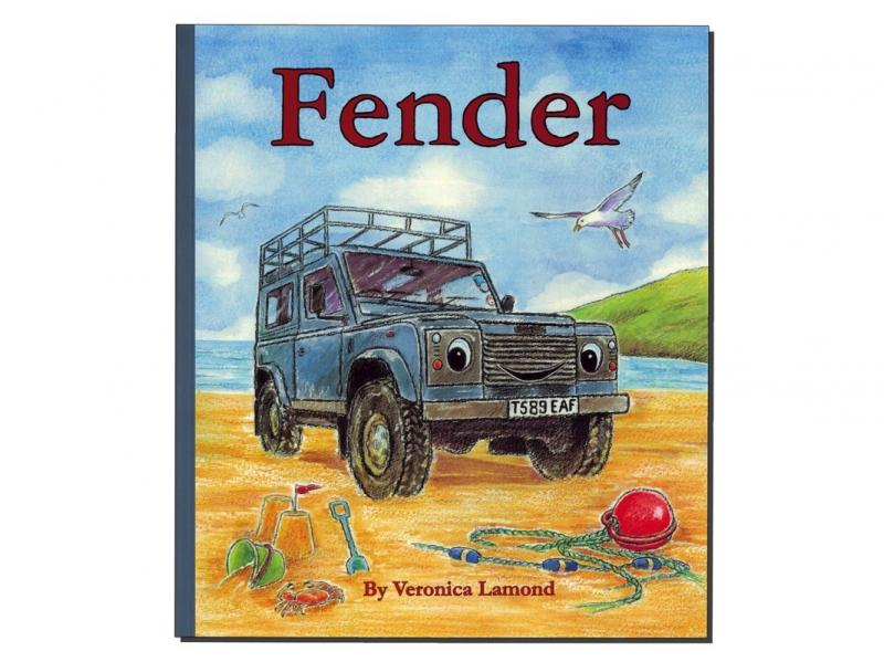 "LIBRO IN INGLESE ""FENDER"" BY VERONICA LAMOND - Picture N.1"