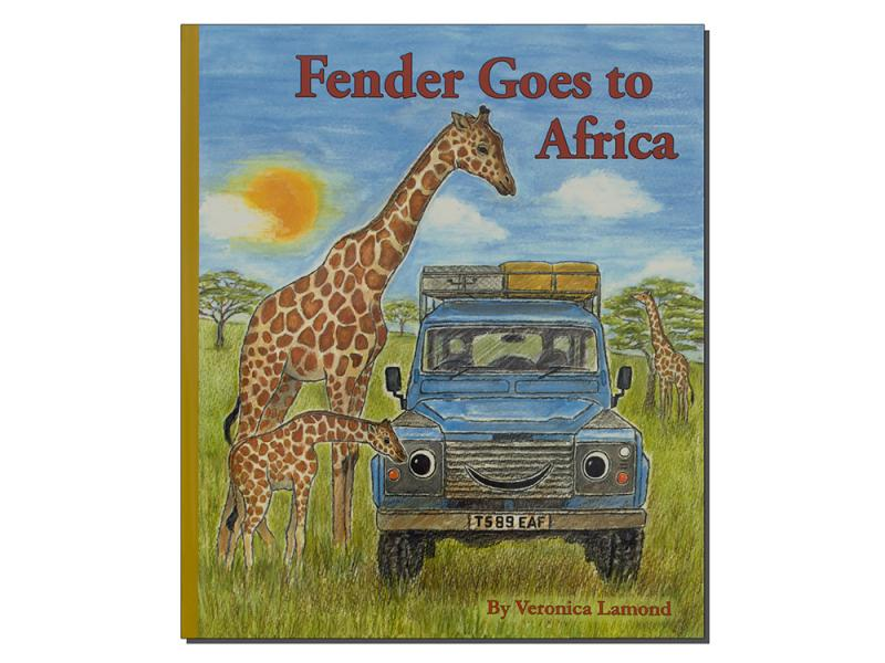 "LIBRO IN INGLESE ""FENDER GOES TO AFRICA"" BY VERONICA LAMOND - Picture N.1"