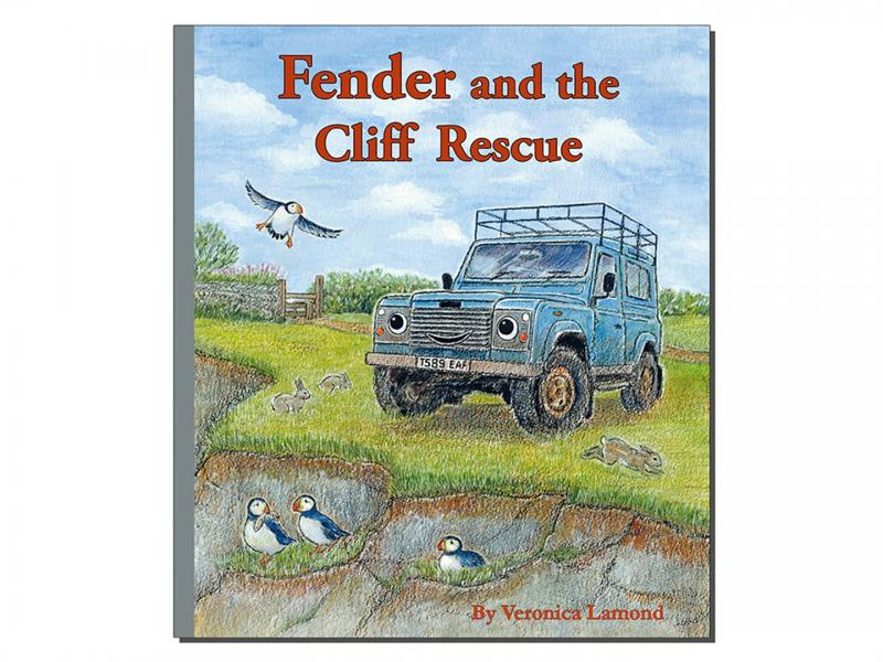 "FENDER RESCUE - LIBRO IN INGLESE ""FENDER AND THE CLIFF RESCUE"" BY VERONICA LAMOND"