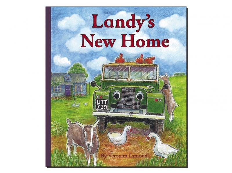 "LIBRO IN INGLESE ""LANDY'S NEW HOME"" BY VERONICA LAMOND - Picture N.1"