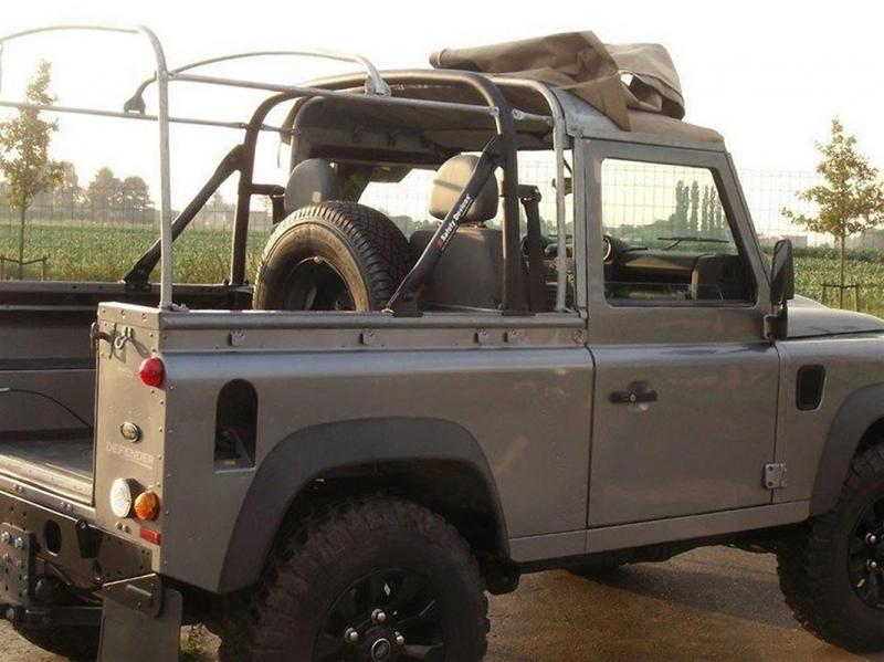 ARCO POSTERIORE PER DEFENDER 90 1990-1993 SOFT TOP  - Picture N.1