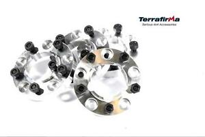 KIT DISTANZIALI TERRAFIRMA 30 MM IN ALLUMINIO DEFENDER/DISCOVERY I/RANGE CLASSIC/SERIES - Picture N.1
