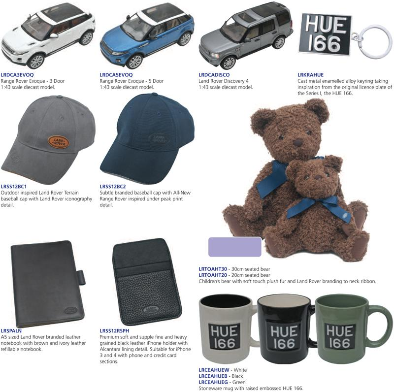 AYLMER MOTORS ::: Land Rover Merchandise