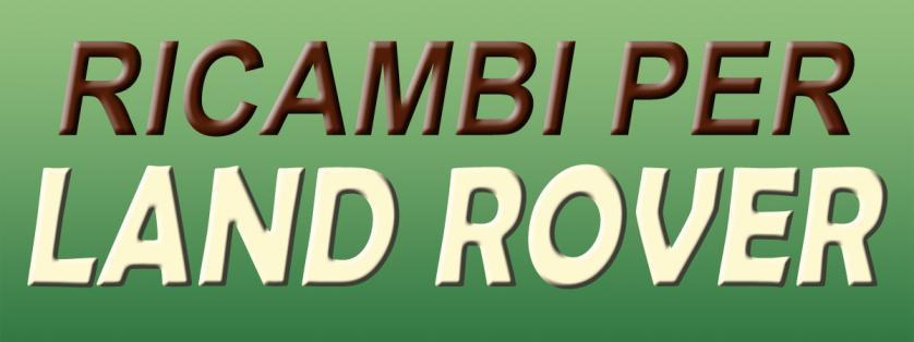 Ricambi per LAND ROVER