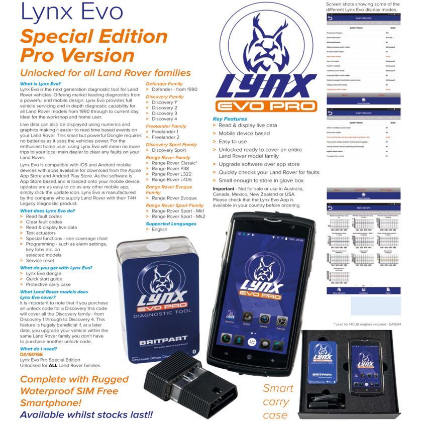Lynx Evo Edizione speciale